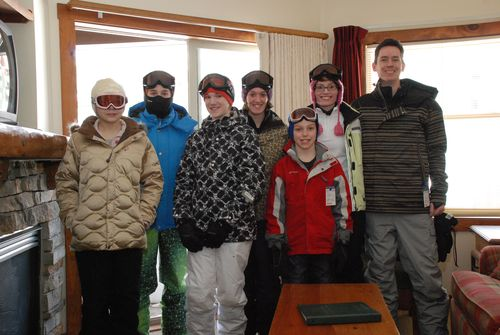 Ready to hit the slopes!