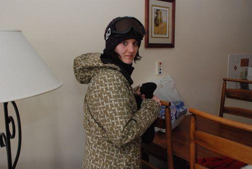 Tori the snowboarder