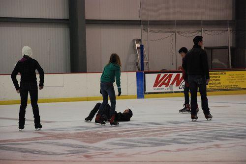 Josiah falls down.....again.