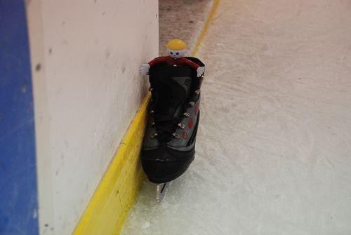 Mr. Bill Ice Skate