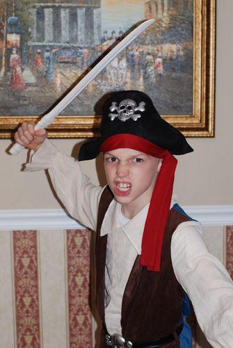"""Josiah as """"A Pirate"""""""