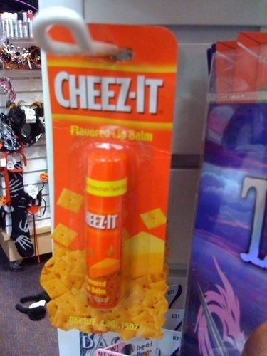 Cheez-It Lip Balm