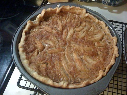 Creamy Pear Pie