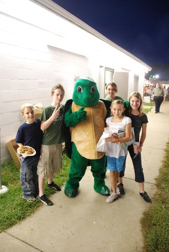 Kids with the Green Turtle