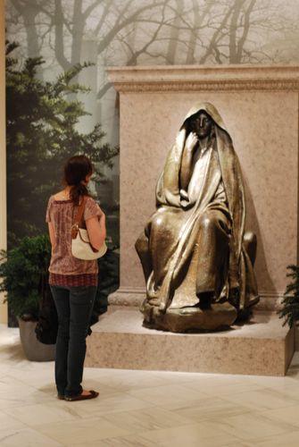 Adams Memorial at the American Art Museum