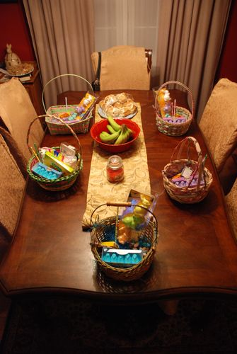 Easter Baskets '09