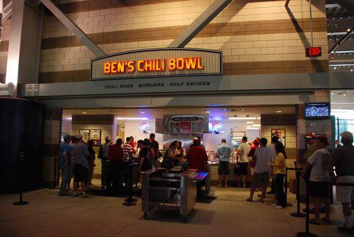 Ben's Chili Bowl at Nat's Stadium